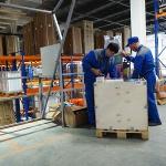 Контроль собранного заказа в зоне мезонина