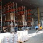 Работа на новом складе
