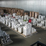 Опыт организации напольного хранения