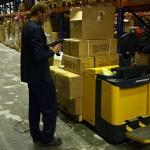 Комплектация целых коробок с помощью ТСД