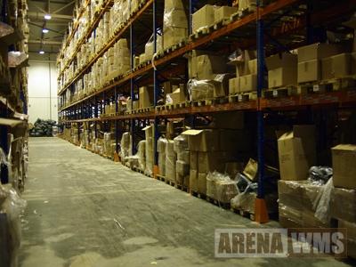 Завершено размещение продукции в стеллажи после переезда склада