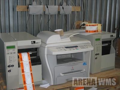 Принтеры этикеток и принтер А4